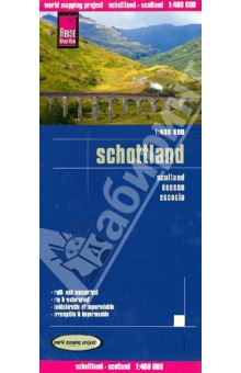 Scotland 1:400 000 dk eyewitness top 10 travel guide scotland
