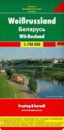 Belarus. Weissrussland 1:700 000