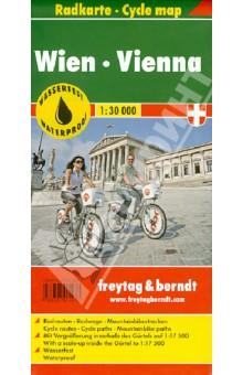 Vienna. Radkarte. 1:30 000 dk ewtg vienna 2016
