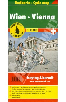 Vienna. Radkarte. 1:30 000 vienna city 1 6 500 1 20 000