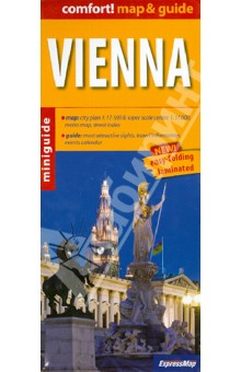 Vienna. 1:17 500 vienna pocket map