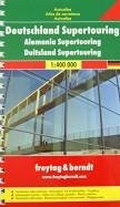 Deutschland Supertouring. Autoatlas (1:400 000)