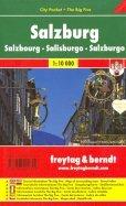 Salzburg. 1:10 000. City pocket + The Big Five