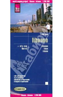 Ливан. Карта. 1:200 000