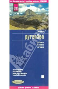 Pyreneees. 1:250 000
