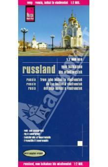 Russland. Vom Baikalsee bis Wladiwostok. 1:2 000 000