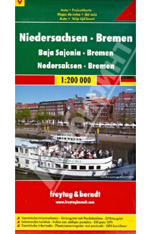 Lower Saxony - Bremen. 1:200 000