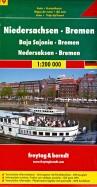 Lower Saxony - Bremen. 1:200 000