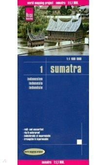 Sumatra. Indonesien. 1:1.100 000