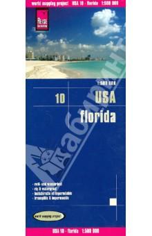 USA, Florida. 1:500 000