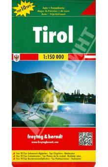 Tirol. 1:150 000