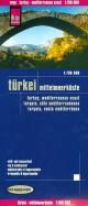 Turkei. Mittelmeerkuste. 1:700 000