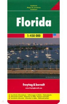 Florida. 1:450 000 no reservations