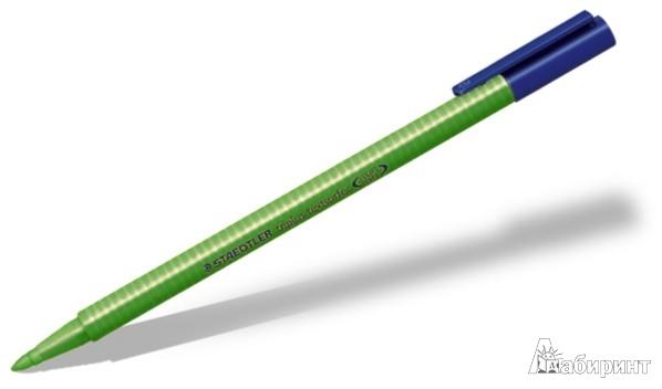 Иллюстрация 1 из 7 для Маркер-текстовыделитель Triplus, зеленый, флуоресцентный (362-5) | Лабиринт - канцтовы. Источник: Лабиринт