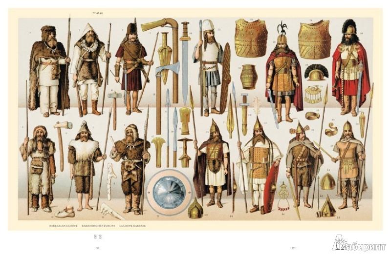 Иллюстрация 1 из 6 для Auguste Racinet. The Complete Costume History | Лабиринт - книги. Источник: Лабиринт