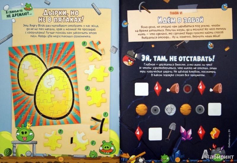 Иллюстрация 1 из 12 для Angry Birds. Главное - манёвры   Лабиринт - книги. Источник: Лабиринт