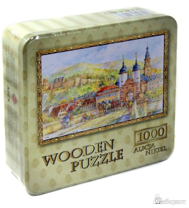 """Иллюстрация 1 из 9 для Puzzle-1000 """"Гельдеберг. Замок и Старый Мост"""" (10080)   Лабиринт - игрушки. Источник: Лабиринт"""