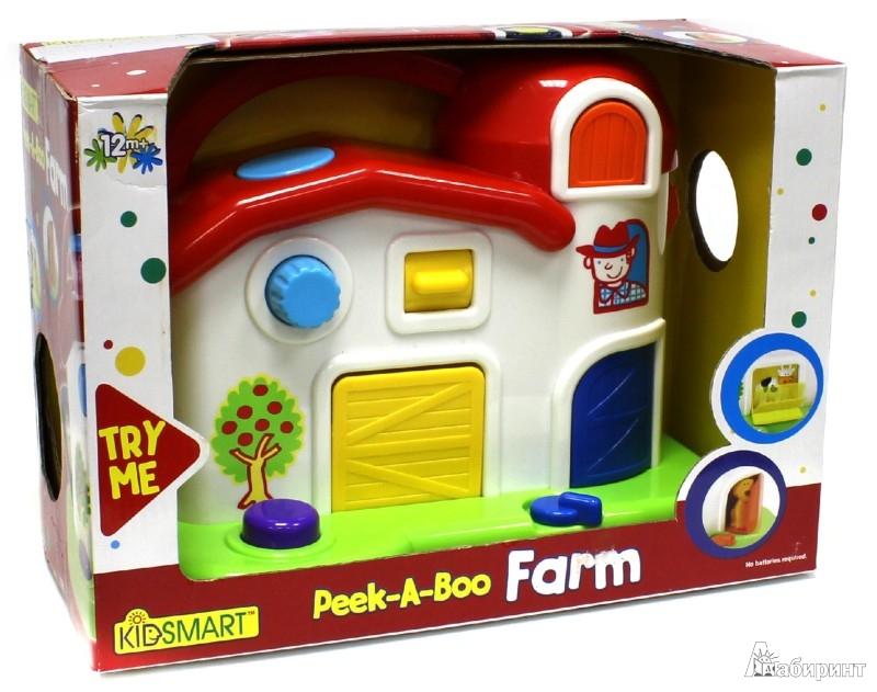 Иллюстрация 1 из 2 для Ферма приятелей Peek-A-Boo Farm (21080) | Лабиринт - игрушки. Источник: Лабиринт