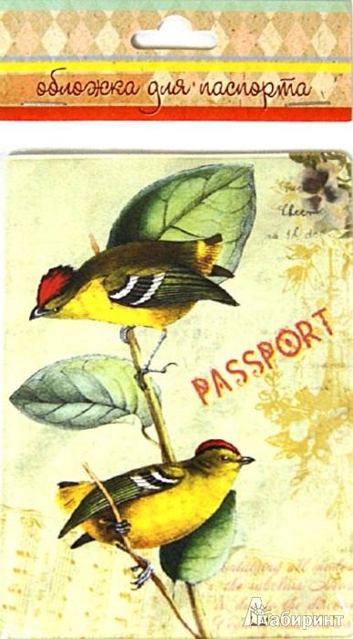 Иллюстрация 1 из 6 для Обложка для паспорта (32386) | Лабиринт - канцтовы. Источник: Лабиринт