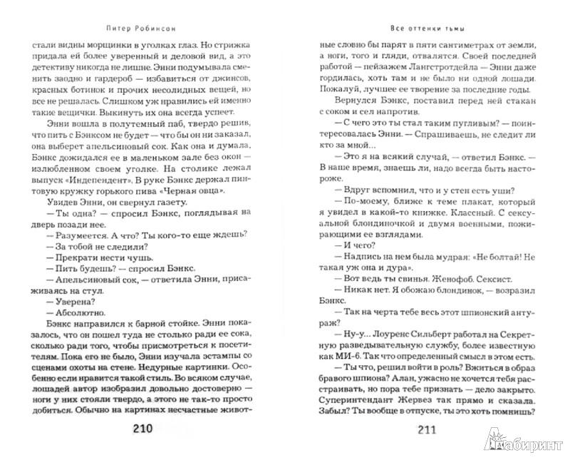 Иллюстрация 1 из 29 для Все оттенки тьмы - Питер Робинсон | Лабиринт - книги. Источник: Лабиринт