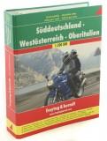 Motorbike Atlas. Germany South. Austria West. Italy North