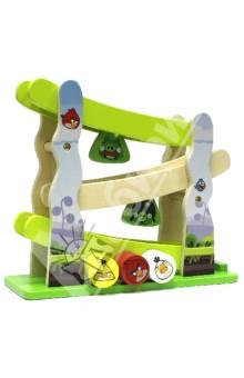Горка Angry Birds. Настольная игра с 3 фигурками интерактивная игра свинка с 3 птичками angry birds