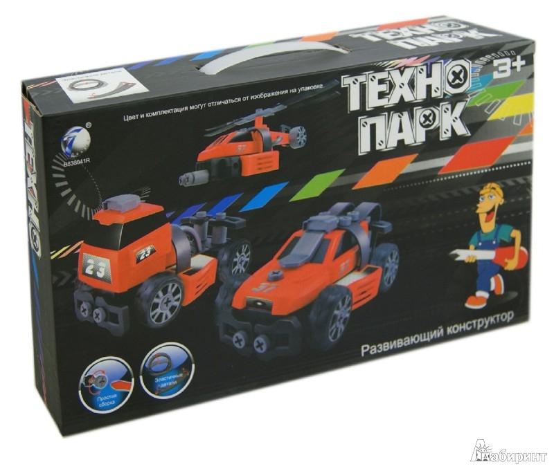 Иллюстрация 1 из 12 для Развивающий конструктор ТЕХНОПАРК, 3 модели (В72172)   Лабиринт - игрушки. Источник: Лабиринт