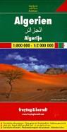 Алжир. Карта. Algeria, Algerien 1:800000-1:2000000