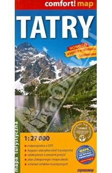 Татры. Карта. Tatry 1:27 000 серьги кольца fashion in 40 d oreille brincos argola pequeno 40er 1