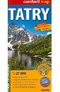 Татры. Карта. Tatry 1:27 000
