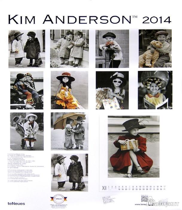 "Иллюстрация 1 из 2 для Календарь на 2014 год ""Ким Андерсон"" (7-6394)   Лабиринт - сувениры. Источник: Лабиринт"