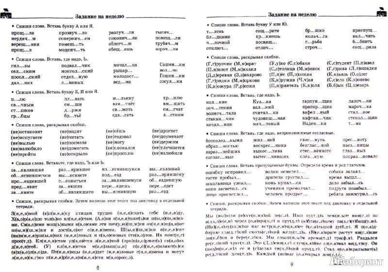 Иллюстрация 1 из 6 для Задания по русскому языку для повторения и закрепления учебного материала. 3 класс - Узорова, Нефедова   Лабиринт - книги. Источник: Лабиринт