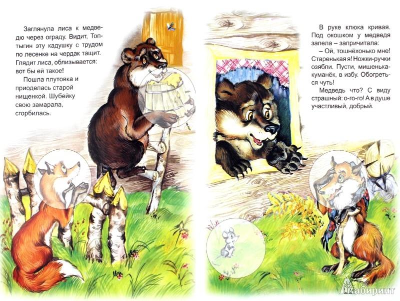 Иллюстрация 1 из 28 для Лиса и медведь | Лабиринт - книги. Источник: Лабиринт