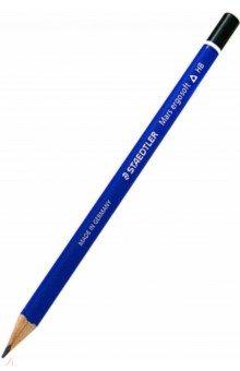 Карандаш чернографитовый трехгранный НВ Mars ergosoft (150-HB) карандаш чернографитовый stabilo beach hb желт фиолетов корпус 415 hb 34