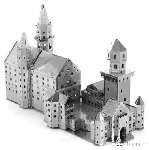 Иллюстрация 1 из 2 для Замок Нойшванштайн. Сборная металлическая модель (MMS018) | Лабиринт - игрушки. Источник: Лабиринт
