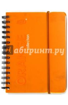 """Записная книжка А6 """"Orange"""" 80 листов, линейка (83352)"""
