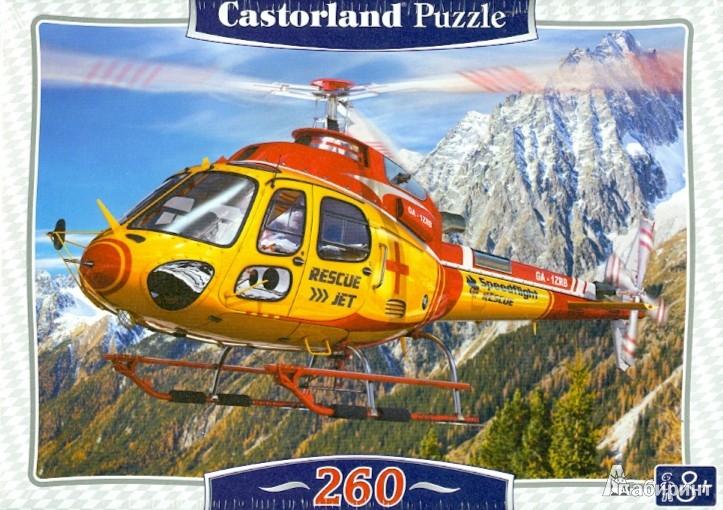 """Иллюстрация 1 из 6 для Puzzle-260 MIDI """"Вертолет"""" (B-27248)   Лабиринт - игрушки. Источник: Лабиринт"""