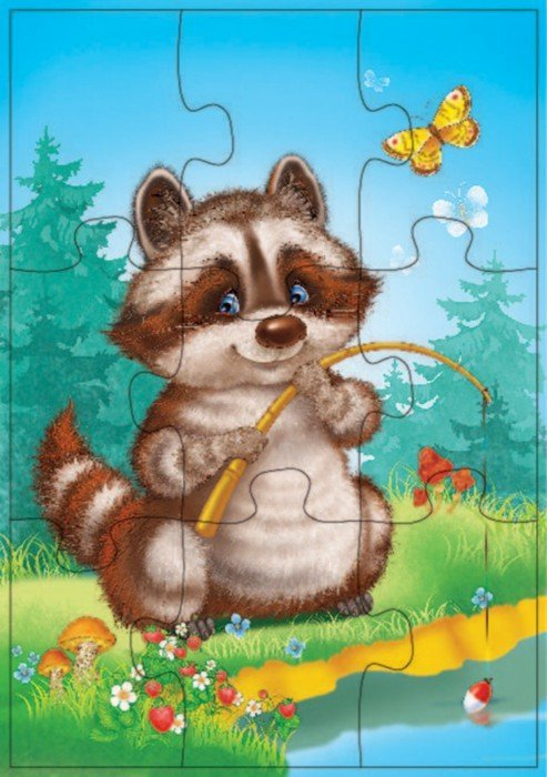 Иллюстрация 1 из 4 для Играй и собирай. Олененок и его друзья (2548) | Лабиринт - игрушки. Источник: Лабиринт