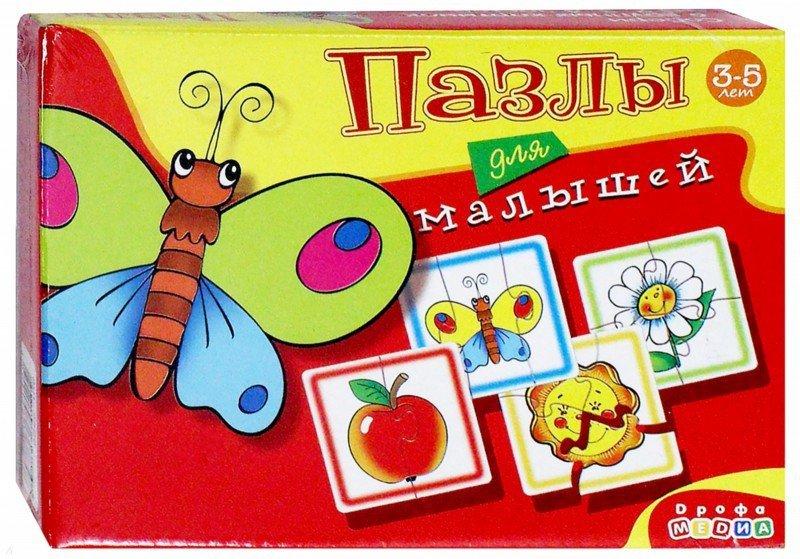 Иллюстрация 1 из 4 для Пазлы для малышей. 6 веселых картинок (2586) | Лабиринт - игрушки. Источник: Лабиринт