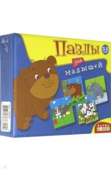 Купить Пазлы для малышей. 6 добрых зверят (2592), Дрофа Медиа, Наборы пазлов