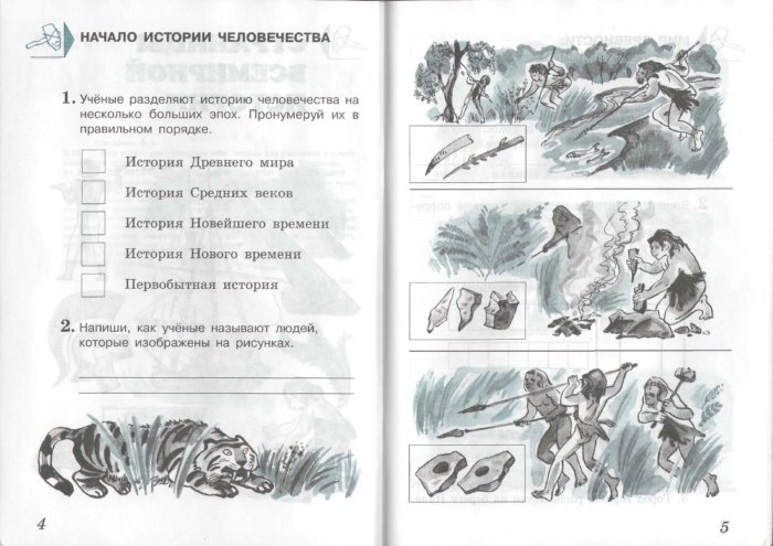 Иллюстрация 1 из 6 для Мир вокруг нас. Проверим себя: тетрадь для учащихся 4 класса начальной школы. В 2 частях. Часть 2 - Плешаков, Крючкова   Лабиринт - книги. Источник: Лабиринт