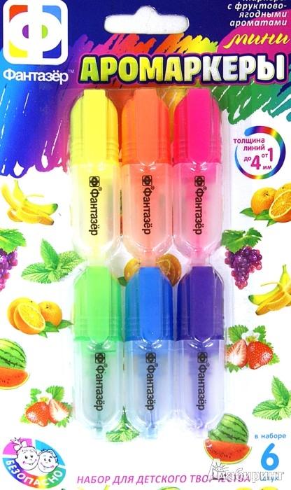 """Иллюстрация 1 из 4 для Набор ароматизированных мини-маркеров """"Мини Аромаркеры"""". 6 штук (710035)   Лабиринт - игрушки. Источник: Лабиринт"""