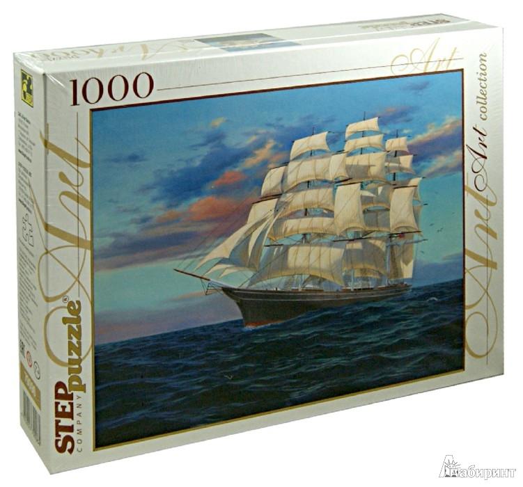 """Иллюстрация 1 из 4 для Step Puzzle-1000 """"Корабль"""" (79096)   Лабиринт - игрушки. Источник: Лабиринт"""
