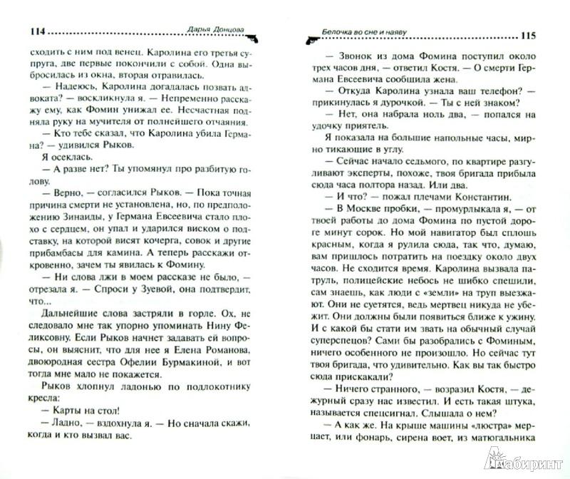 Иллюстрация 1 из 5 для Белочка во сне и наяву - Дарья Донцова | Лабиринт - книги. Источник: Лабиринт