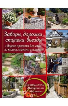 Заборы, дорожки, ступени, въезды и другие проекты для сада из камня, кирпича и плитки барбекю с казаном из кирпича чертежи и фотографии