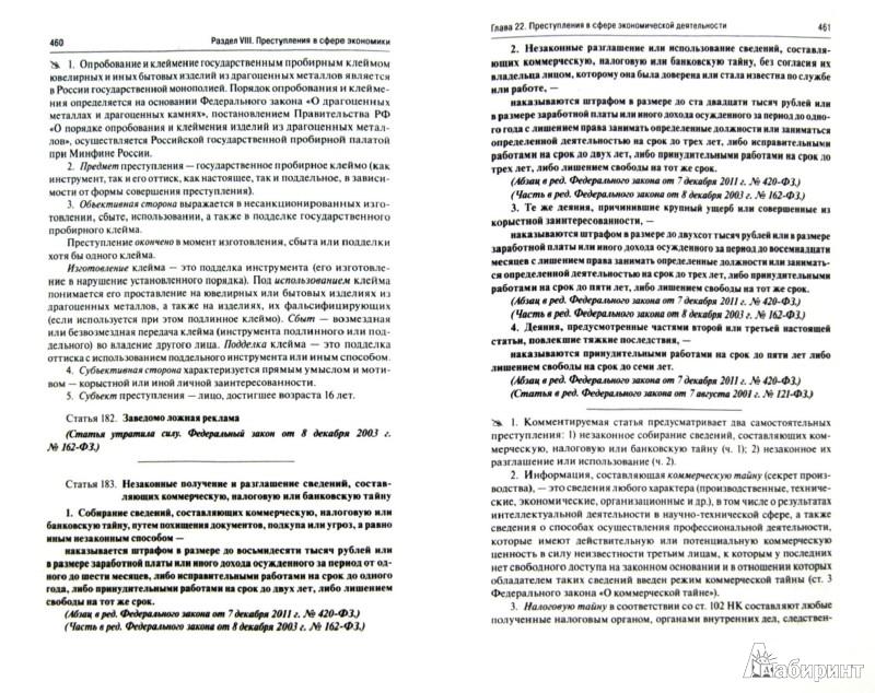 Иллюстрация 1 из 13 для Комментарии к Уголовному кодексу Российской Федерации - Боженок, Грачева, Ермакова | Лабиринт - книги. Источник: Лабиринт