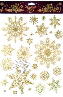 Украшение новогоднее оконное Снежинки (31246)