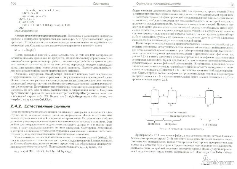 Иллюстрация 1 из 7 для Алгоритмы и структуры данных. Новая версия для Оберона - Никлаус Вирт | Лабиринт - книги. Источник: Лабиринт