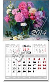 """Календарь на 2014 год с магнитным креплением """"Букет"""" (32013)"""