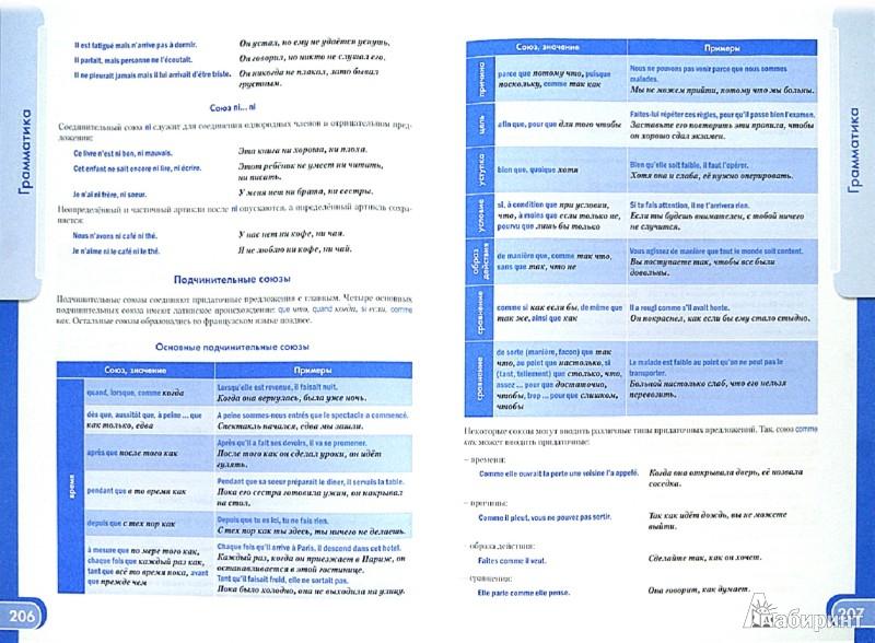 Иллюстрация 1 из 7 для Французский язык. Большой справочник по грамматике - Валентина Козырева | Лабиринт - книги. Источник: Лабиринт